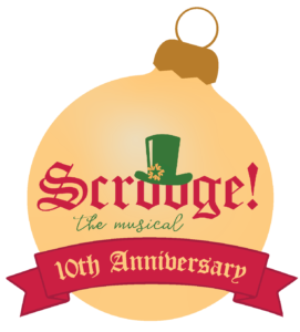 Scrooge 10th Anniversary logo